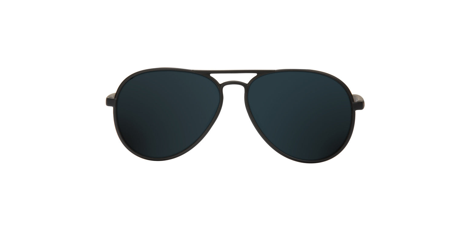 YAW MATTE BLACK - BLACK POLARIZED