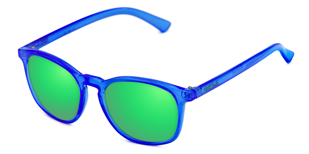 OU MISTIK BRIGHT BLUE - GREEN POLARIZED