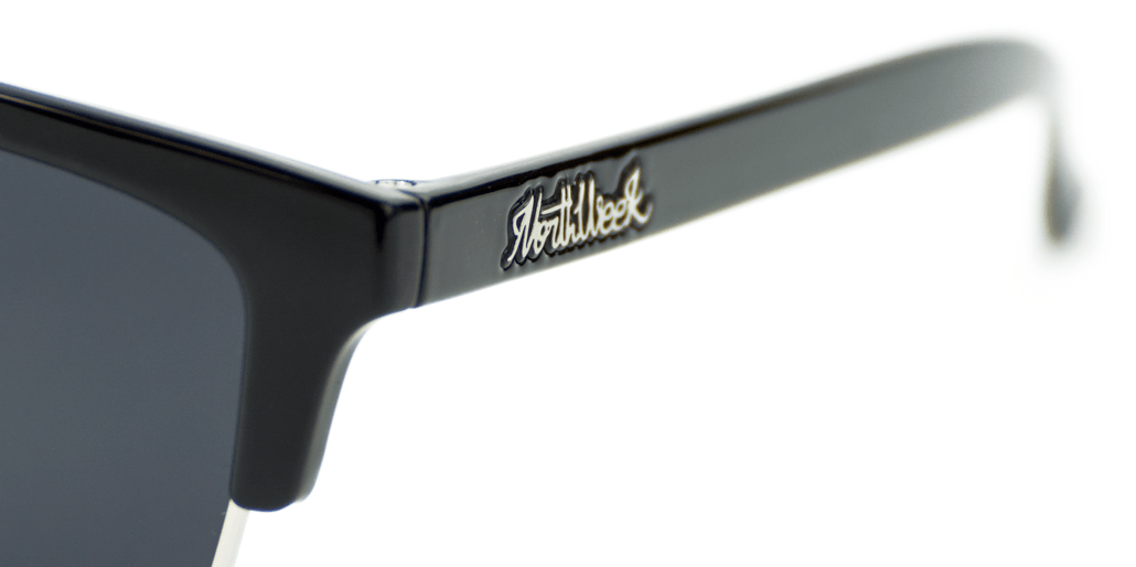 Old School Shine Black - Black Polarized