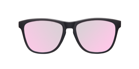 REGULAR MATTE BLACK - ROSE GOLD POLARIZED