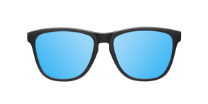 REGULAR MATTE BLACK - ICE BLUE POLARIZED