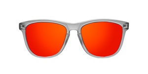 REGULAR SMOKY GREY - RED POLARIZED