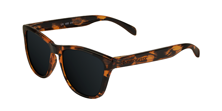 REGULAR DEMI TORTOISE BROWN - BLACK POLARIZED