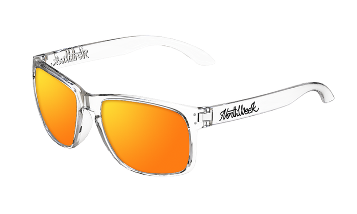 OU BOLD BRIGHT WHITE - ORANGE POLARIZED