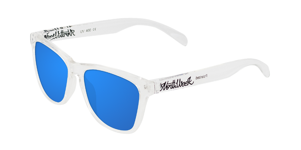 SS16 BRIGHT WHITE - BLUE POLARIZED