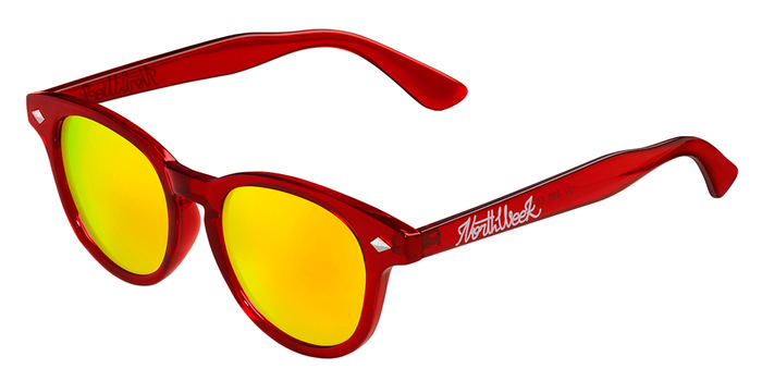 OU CIRCLE BRIGHT RED - GOLD POLARIZED