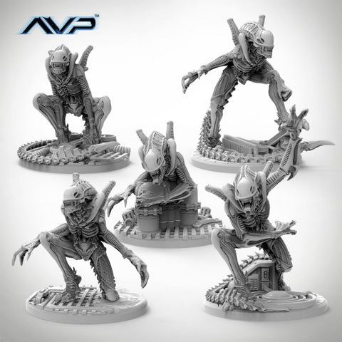 Alien Warriors (Unicast Edition)