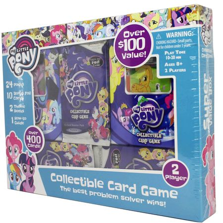 MY LITTLE PONY CCG 2-Player Super Value Box