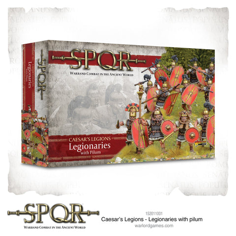 CAESAR'S LEGIONS - Legionaries with pilum