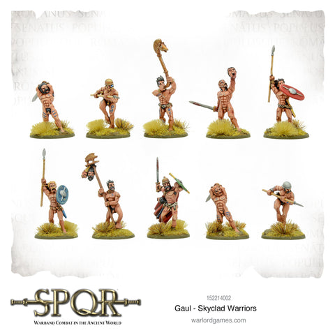 GAUL - Skyclad Warriors