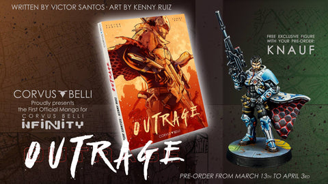 Infinity: Outrage Limited Edition with Knauf, Manga Exclusive Model