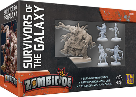 SURVIVORS OF THE GALAXY: Zombicide Invader