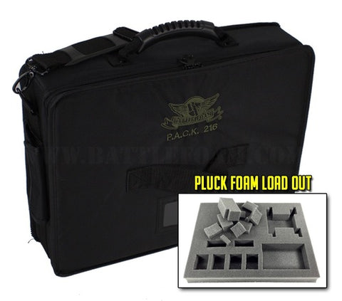 P.A.C.K. 216 Pluck Foam Load Out (Black)