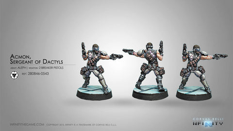 Dactyls, Steel Phalanx Support Corps (Engineer)
