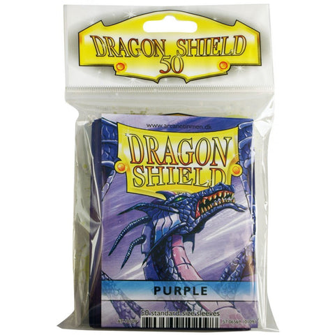 Dragon Shield Sleeves Purple (50)