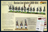 Russian Line Infantry (1809-1814)