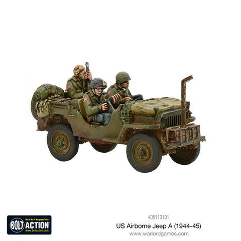 US Airborne Jeep A (1944-45)