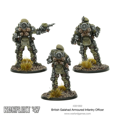 BRITISH Galahad Armoured Infantry Office