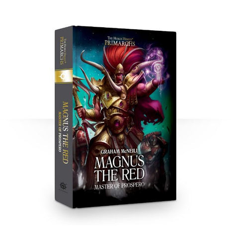 PRIMARCHS: MAGNUS THE RED: MASTER OF PROSPERO (HB)