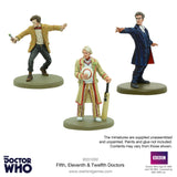 5th, 11th & 12th Doctor Set