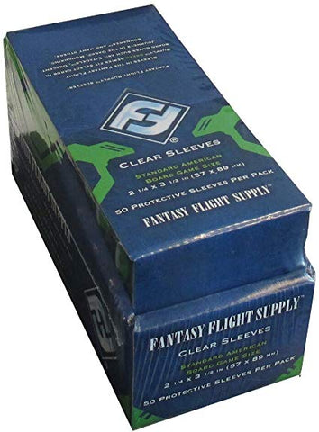 Standard American Board Game Sleeves (x10 case)