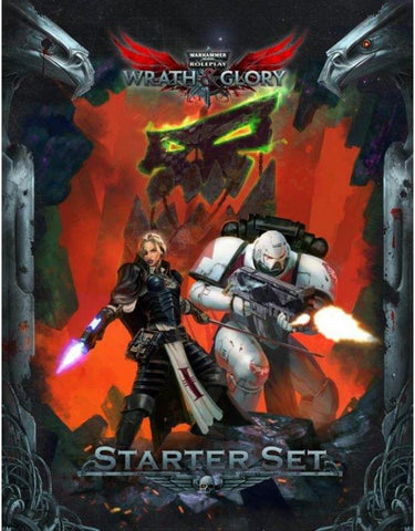 WRATH & GLORY Starter Set - Warhammer 40000 Roleplay
