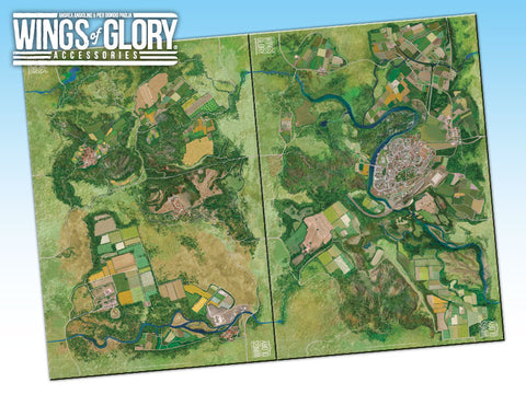 CITY: Wings of Glory Game Mat