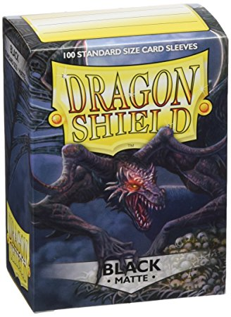 Dragon Shield Sleeves Black Matte (100)