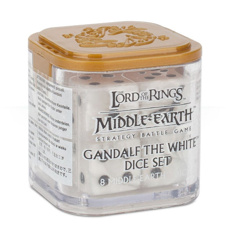 GANDALF THE WHITE DICE SET