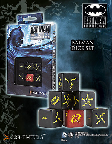 BATMAN Dice Set