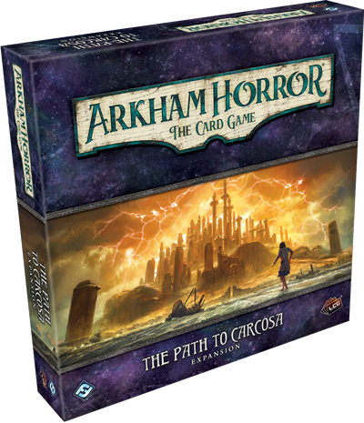 THE PATH TO CARCOSA - Deluxe: Arkham Horror LCG Exp.