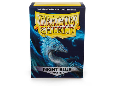 Dragon Shield Sleeves Classic Night Blue (100)
