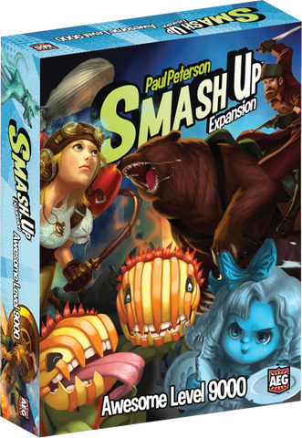 AWESOME LEVEL 9000: Smash Up Expansion