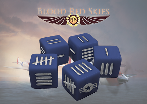 U.S. Blood Red Skies Dice