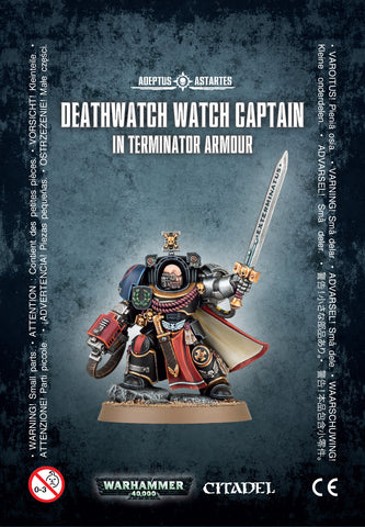 DEATHWATCH WATCH CAPT. TERMINATOR ARMOUR