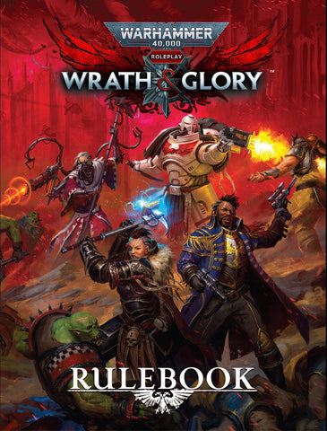 WRATH & GLORY Core Rulebook - Revised Edition (HB)