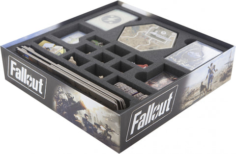 FALLOUT - Board Game - Foam tray set