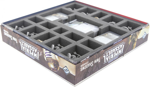 STAR WARS IMPERIAL ASSAULT - Twin Shadows - Foam tray set