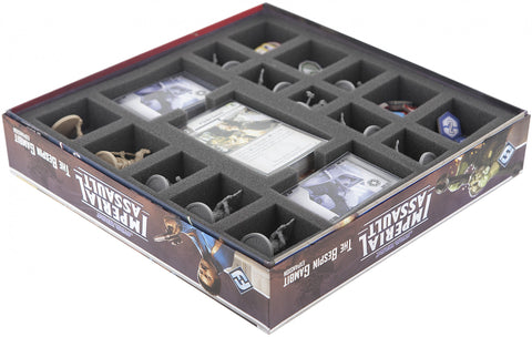 STAR WARS IMPERIAL ASSAULT - Bespin Gambit - Foam tray set