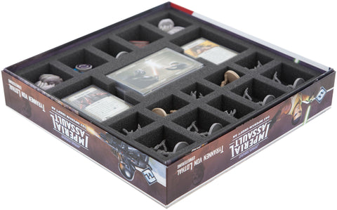 STAR WARS IMPERIAL ASSAULT - Tyrants of Lothal + Thrawn - Foam tray set