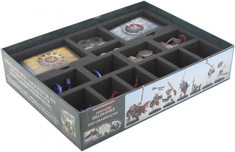 SHADESPIRE - Box Foam tray set
