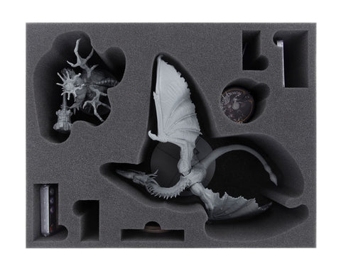 DARK SOULS - Guardian Dragon + Asylum Demon - Foam tray set