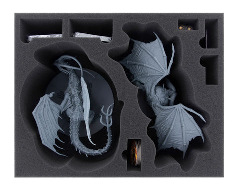 DARK SOULS - Black Dragon Kalameet + Old Iron King - Foam tray set