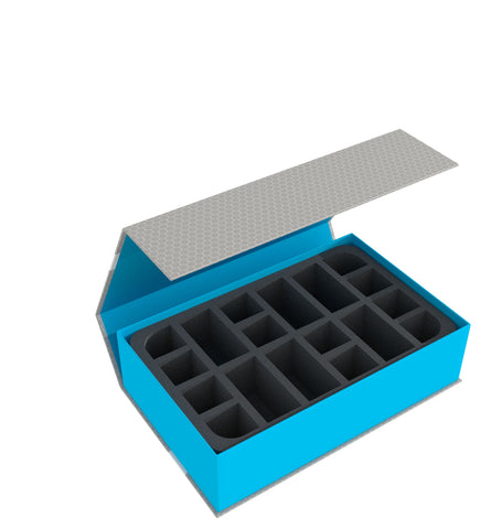 MAGNETIC BOX BLUE for GWAKA'MOLI CRATER GATORS