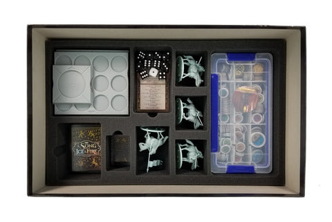 A Song of Ice & Fire Starter Set - Foam Kit for Game Box