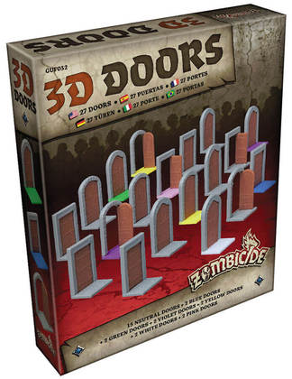 ZOMBICIDE: BLACK PLAGUE: 3D Doors