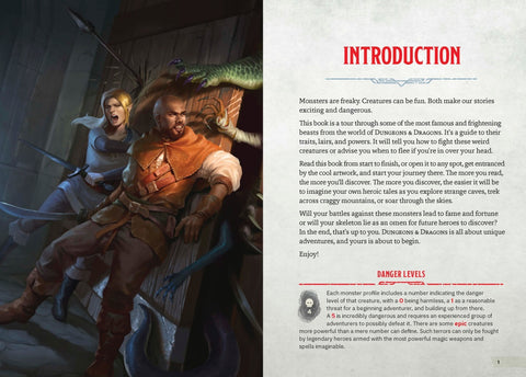 MONSTERS AND CREATURES - Dungeons & Dragons Young Adventurer's Guide