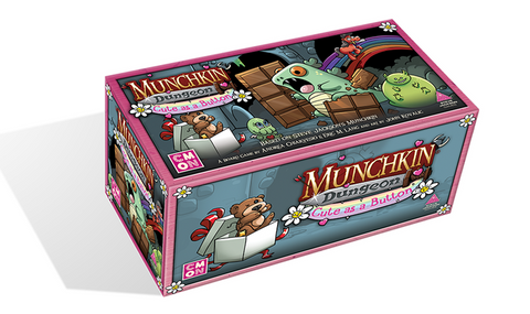 Munchkin Dungeon: Cute As A Button Expansion