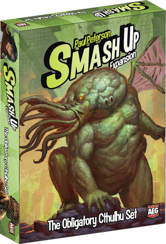 OBLIGATORY CTHULHU Set: Smash Up Expansion