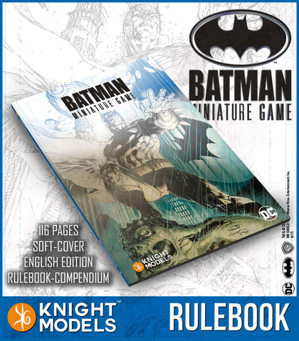 BATMAN MINIATURE GAME V2.0 RULEBOOK (ENGLISH ED.)